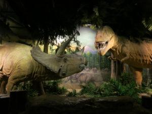 台北動物園の動く恐竜