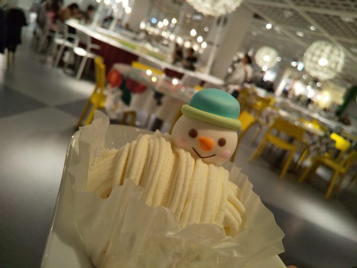 IKEAのクリスマスケーキ