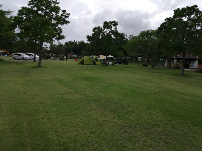 赤穂オートキャンプ場フリーサイト