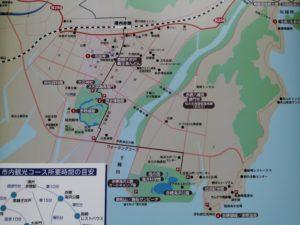 赤穂オートキャンプ場近辺の地図