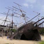 赤穂海浜公園の難破船