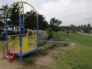 赤穂海浜公園のローラー滑り台